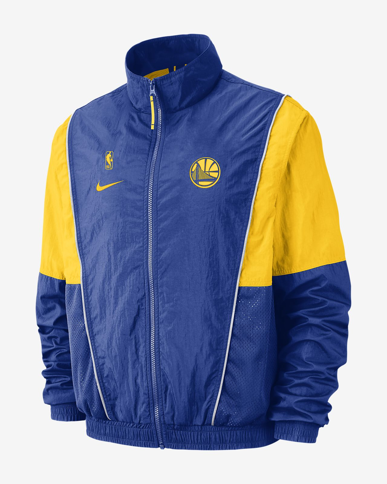 adefa87c082 Golden State Warriors Nike Men s NBA Tracksuit Jacket. Nike.com
