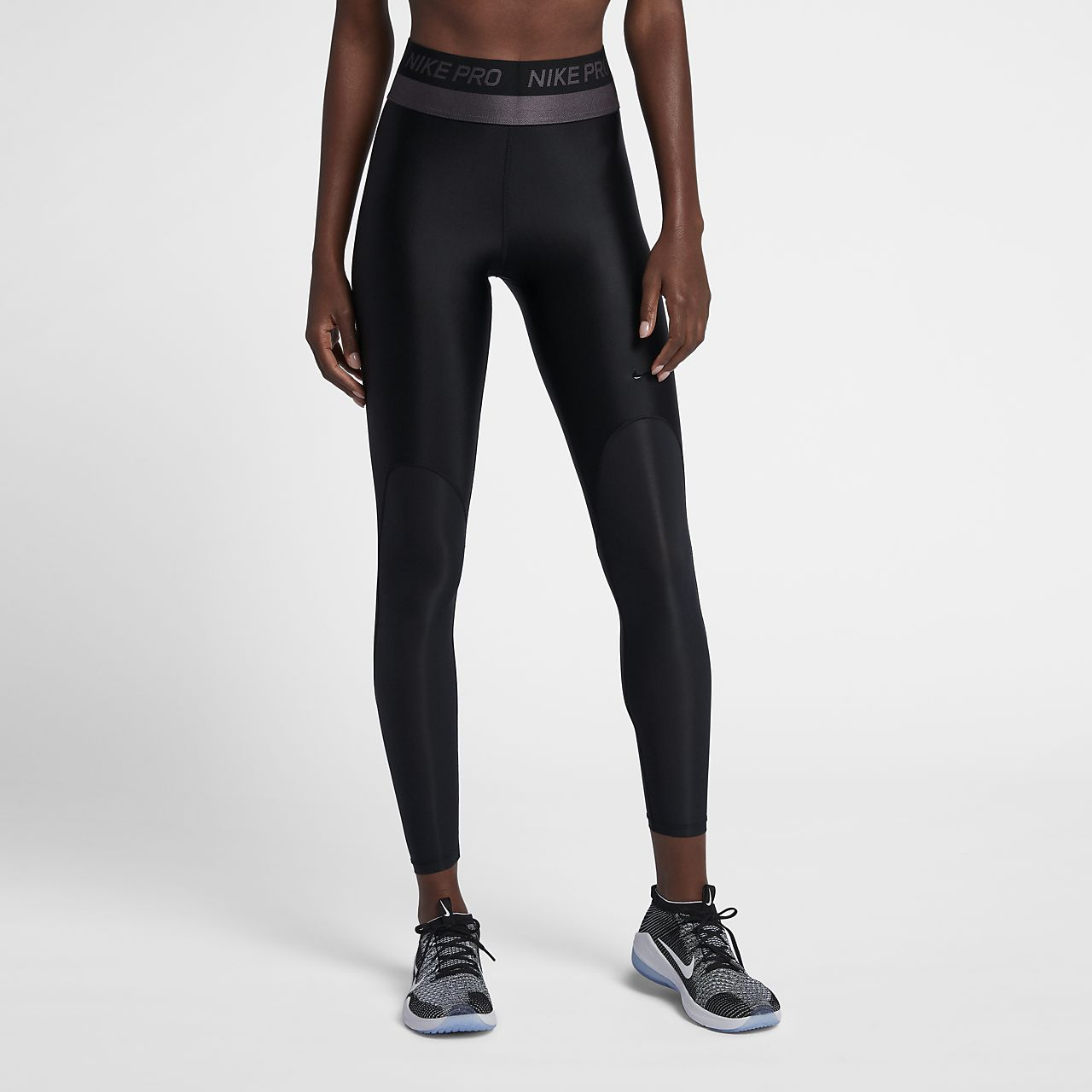 Tights da training a vita media Nike Pro HyperCool - Donna
