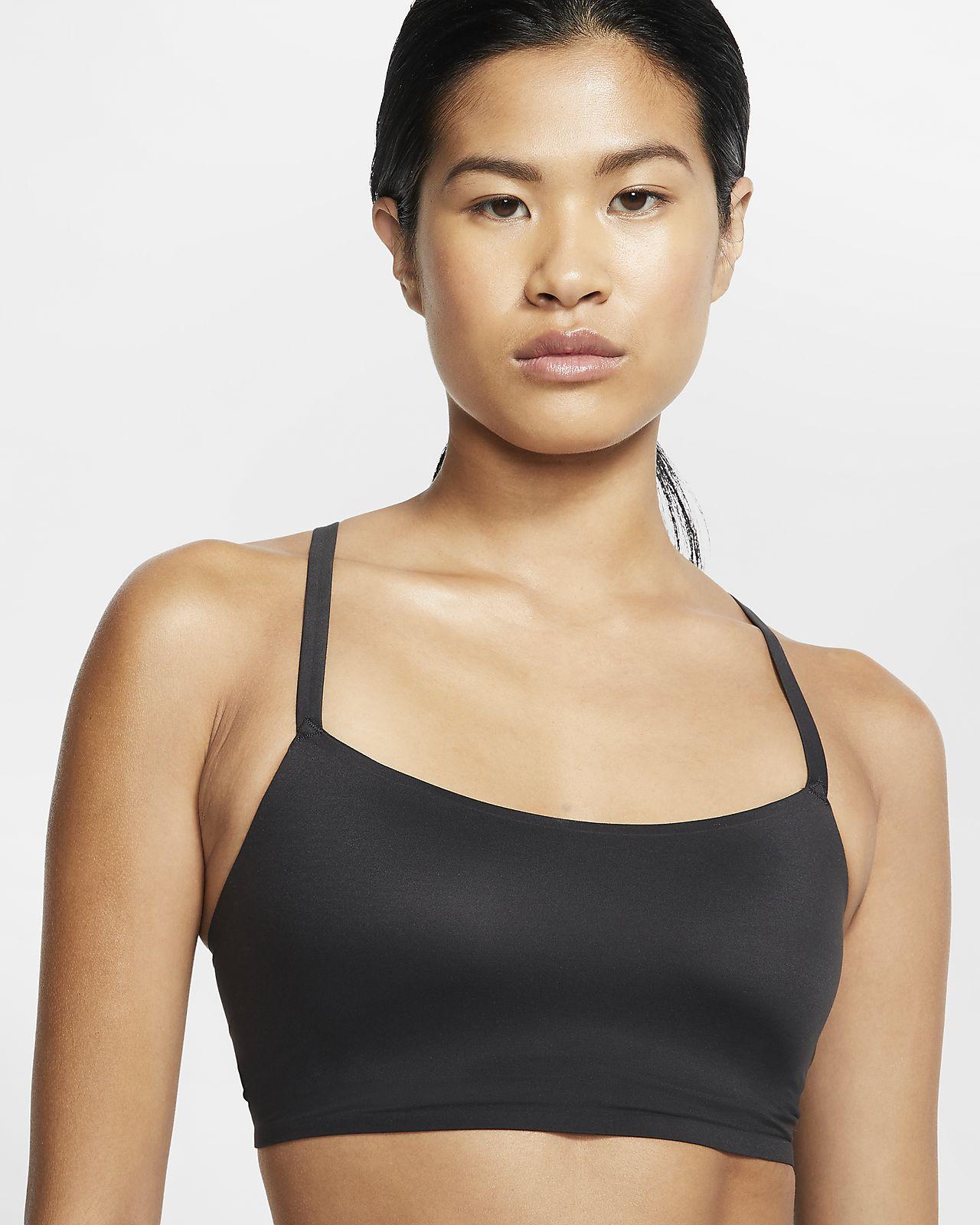 Nike Indy Luxe Sport-BH mit leichtem Halt für Damen