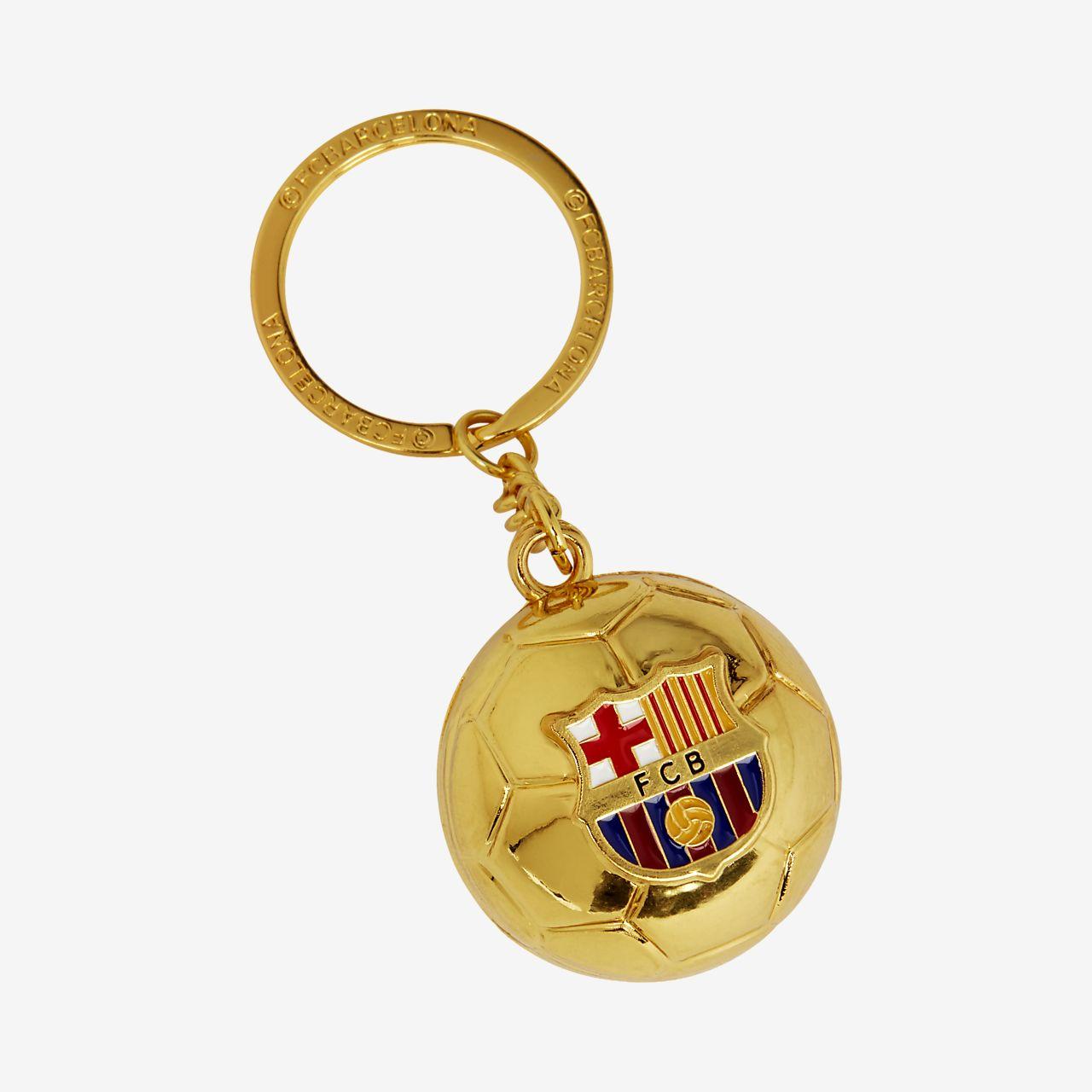 ... FC Barcelona Golden Ball Llavero 434f0773564