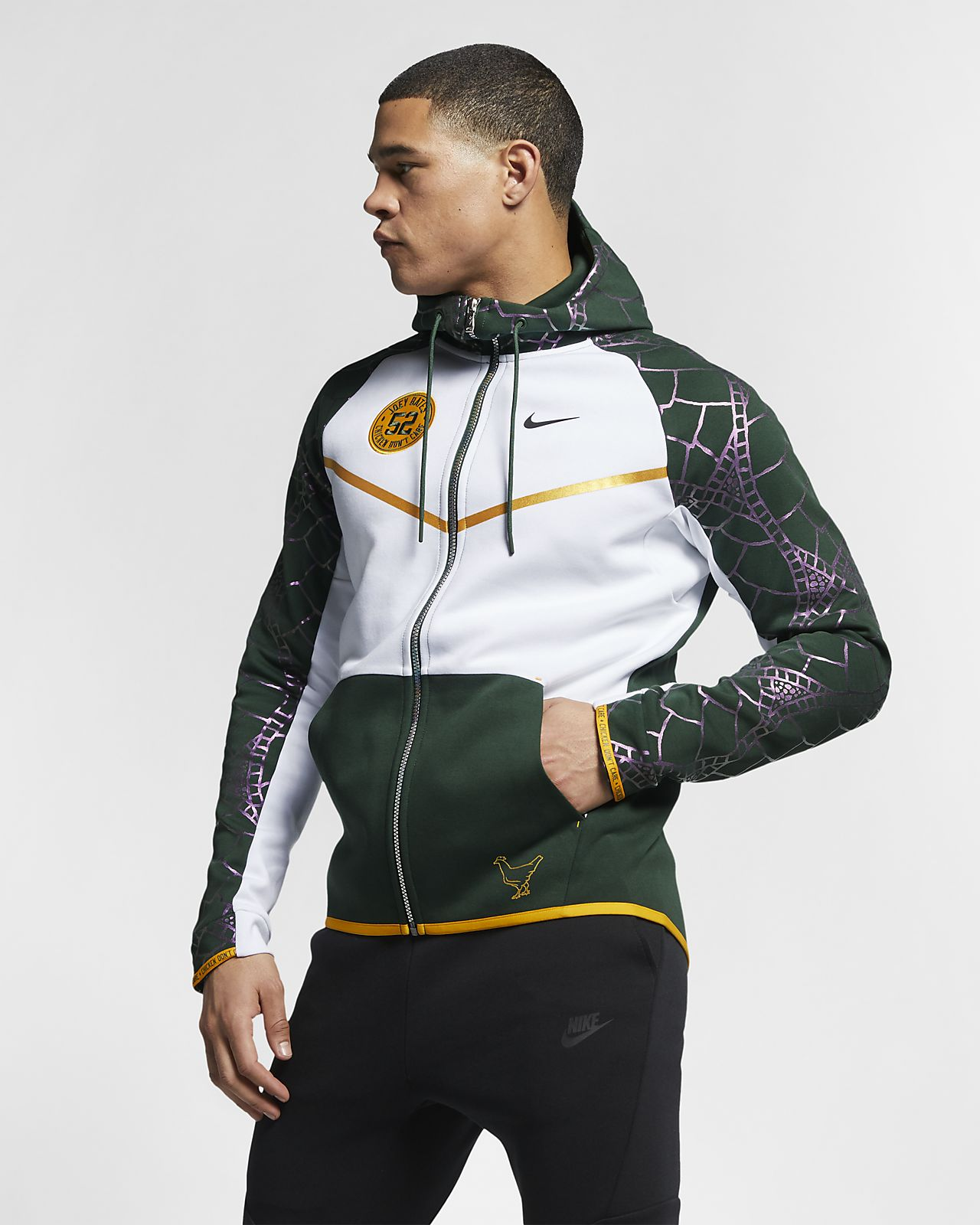 Men s Full-Zip Hoodie. Joey s Nike Sportswear Tech Fleece Windrunner  (Doernbecher Freestyle) 4b9d4e052