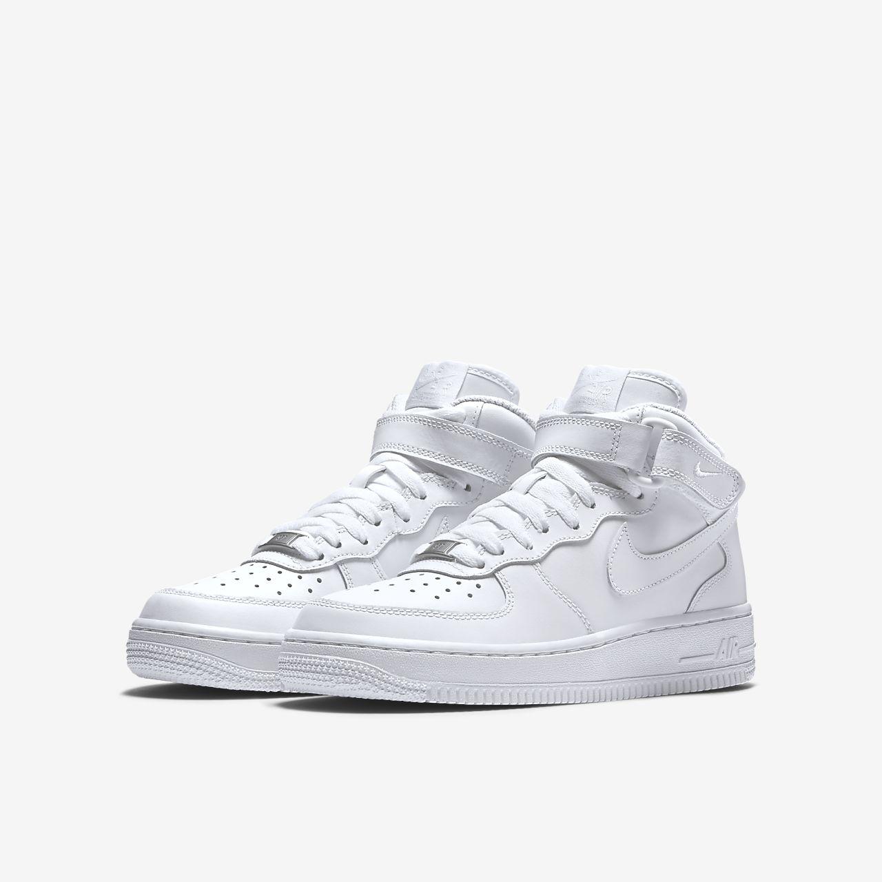new style 99ccd b4c12 ... Nike Air Force 1 Mid 06 Big Kids  Shoe