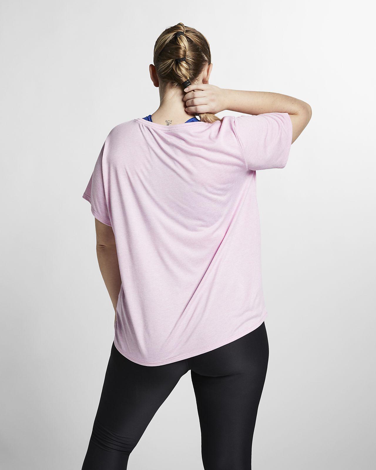 5587a16638d0a ... Nike Dri-FIT Legend Women s Short-Sleeve Training Top (Plus Size)