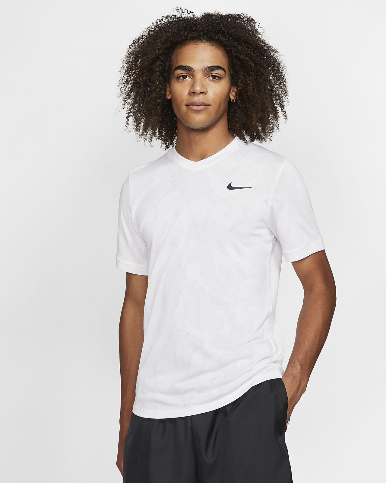 NikeCourt Dri FIT Challenger Men's Short Sleeve Tennis Top