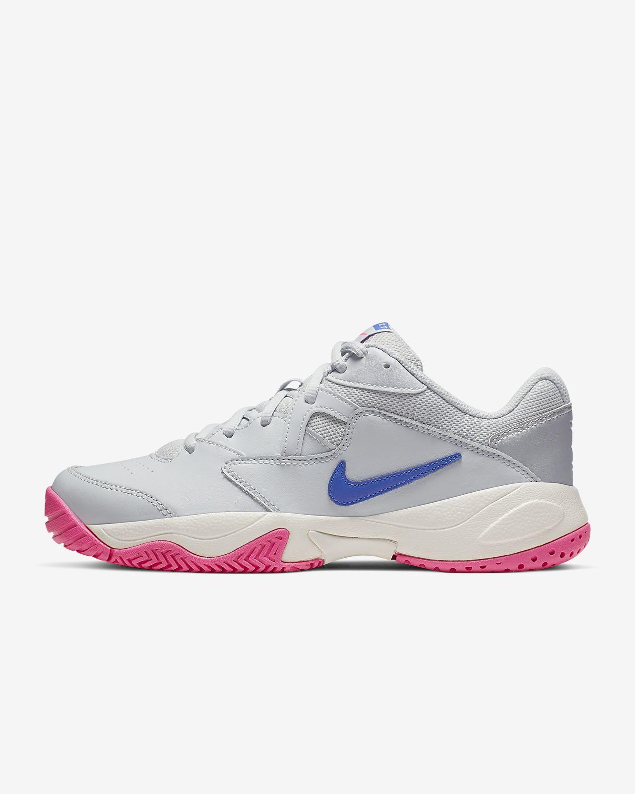 รองเท้าเทนนิสคอร์ทปูนผู้หญิง NikeCourt Lite 2