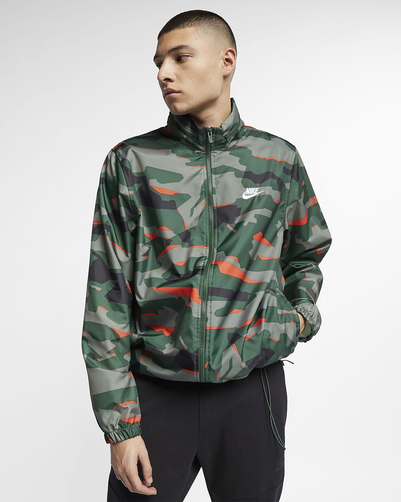 49cacbbc32d9 Nike Sportswear Men s Hooded Camo Jacket. Nike.com NL