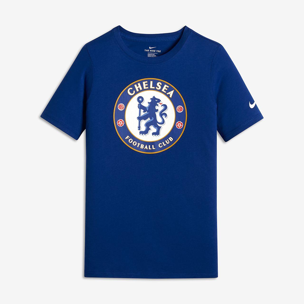 192e8d2496 Chelsea FC Evergreen Crest Camiseta - Niño a y niño a pequeño a ...