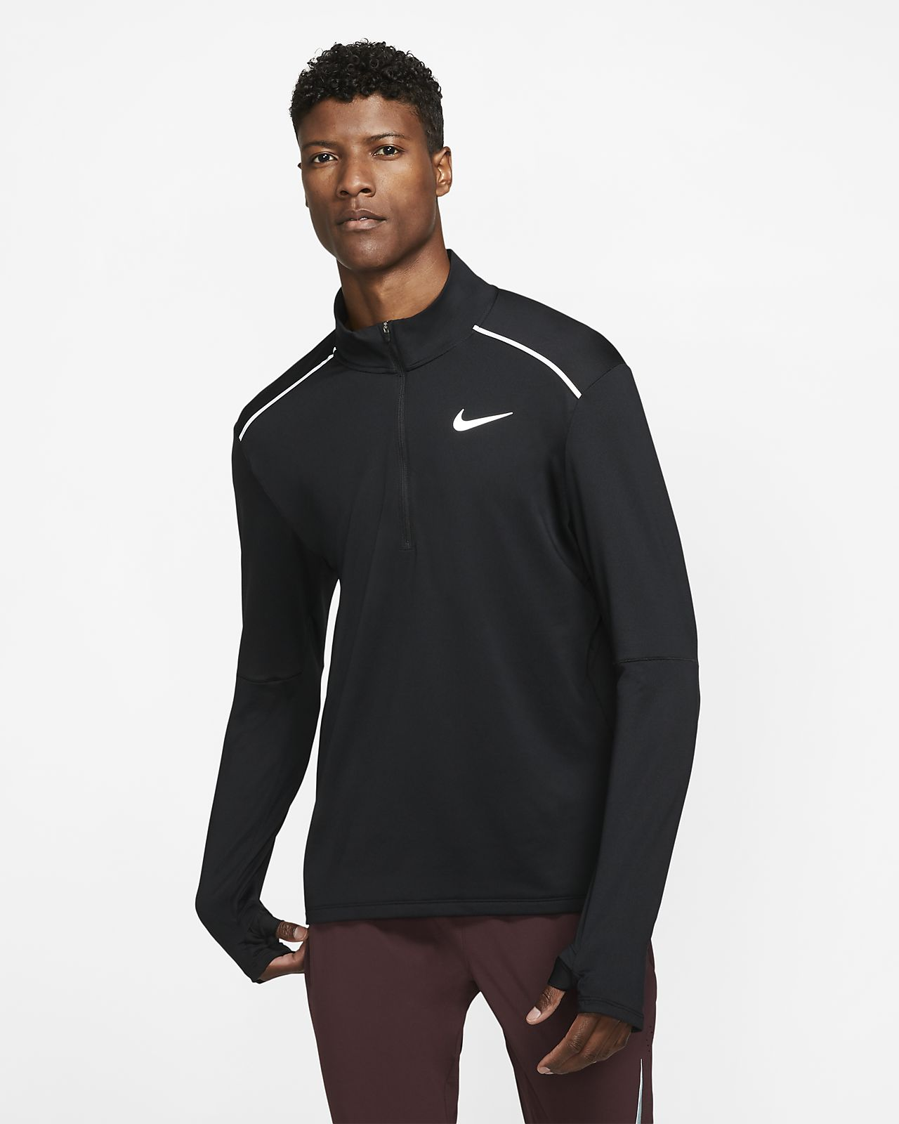 Nike 3.0 Men's 1/2-Zip Running Crew