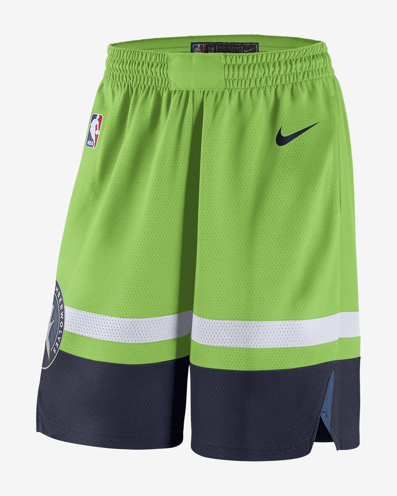 f2e6b1898f2 Men s Nike NBA Shorts. Minnesota Timberwolves Statement Edition Swingman