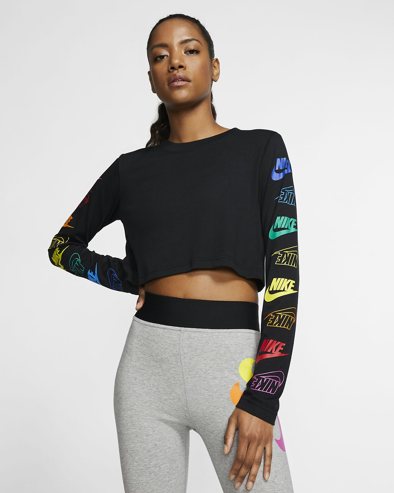 Nike Sportswear Langarm T Shirt für Damen