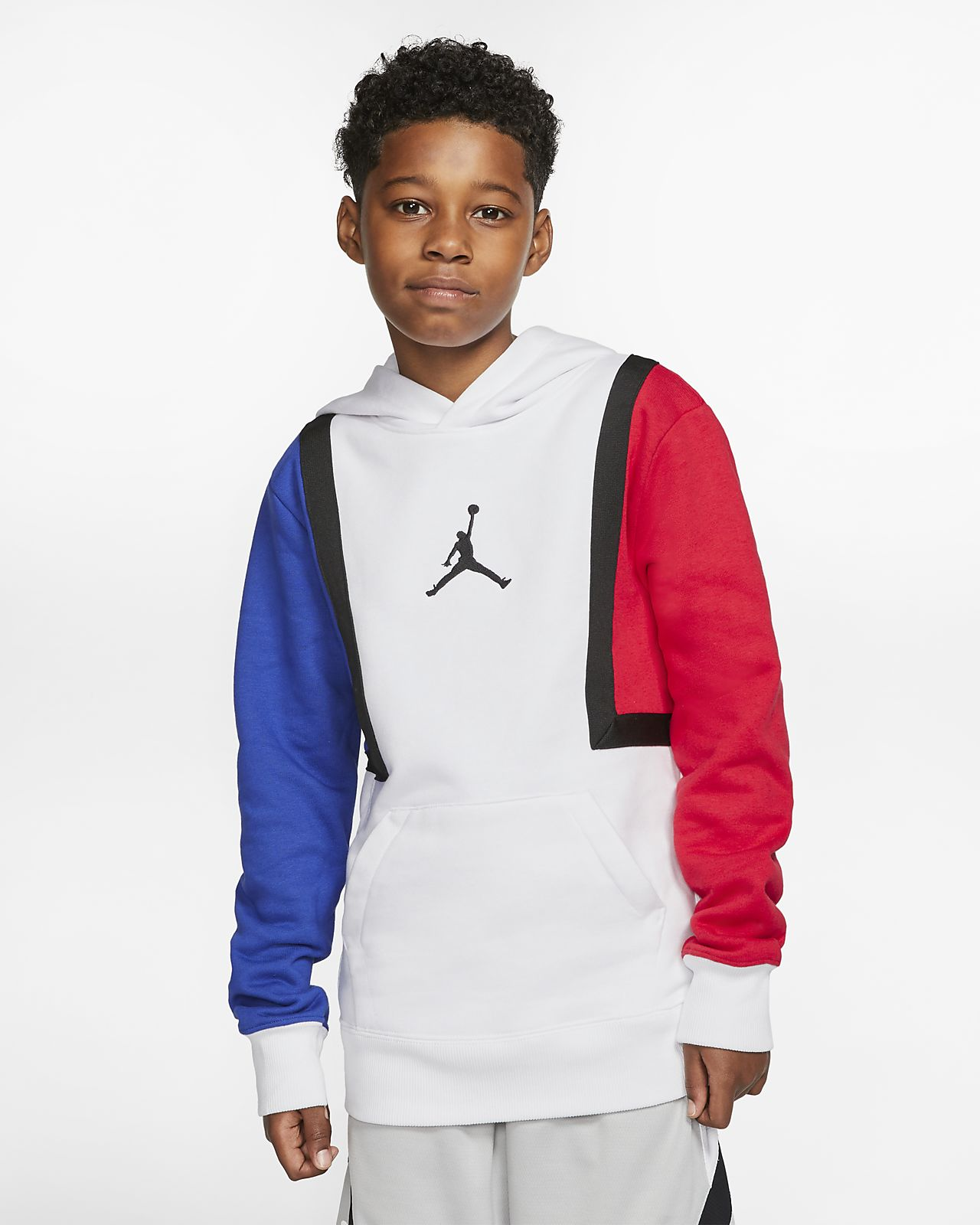 Jordan Jumpman Dessuadora amb caputxa i blocs de color - Nen