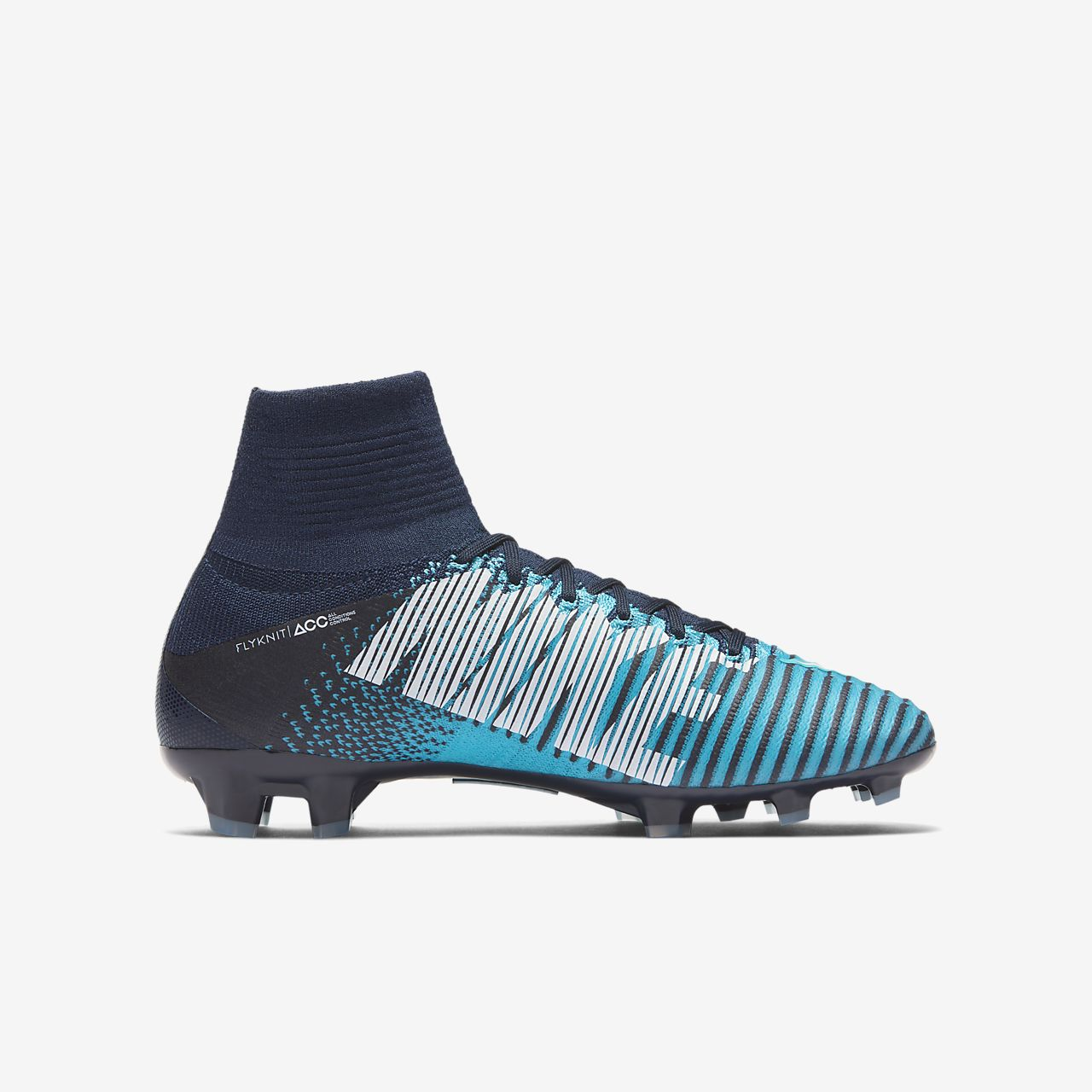 Nike Jr. Mercurial Superfly V Dynamic Fit Older Kids Firm-Ground ...