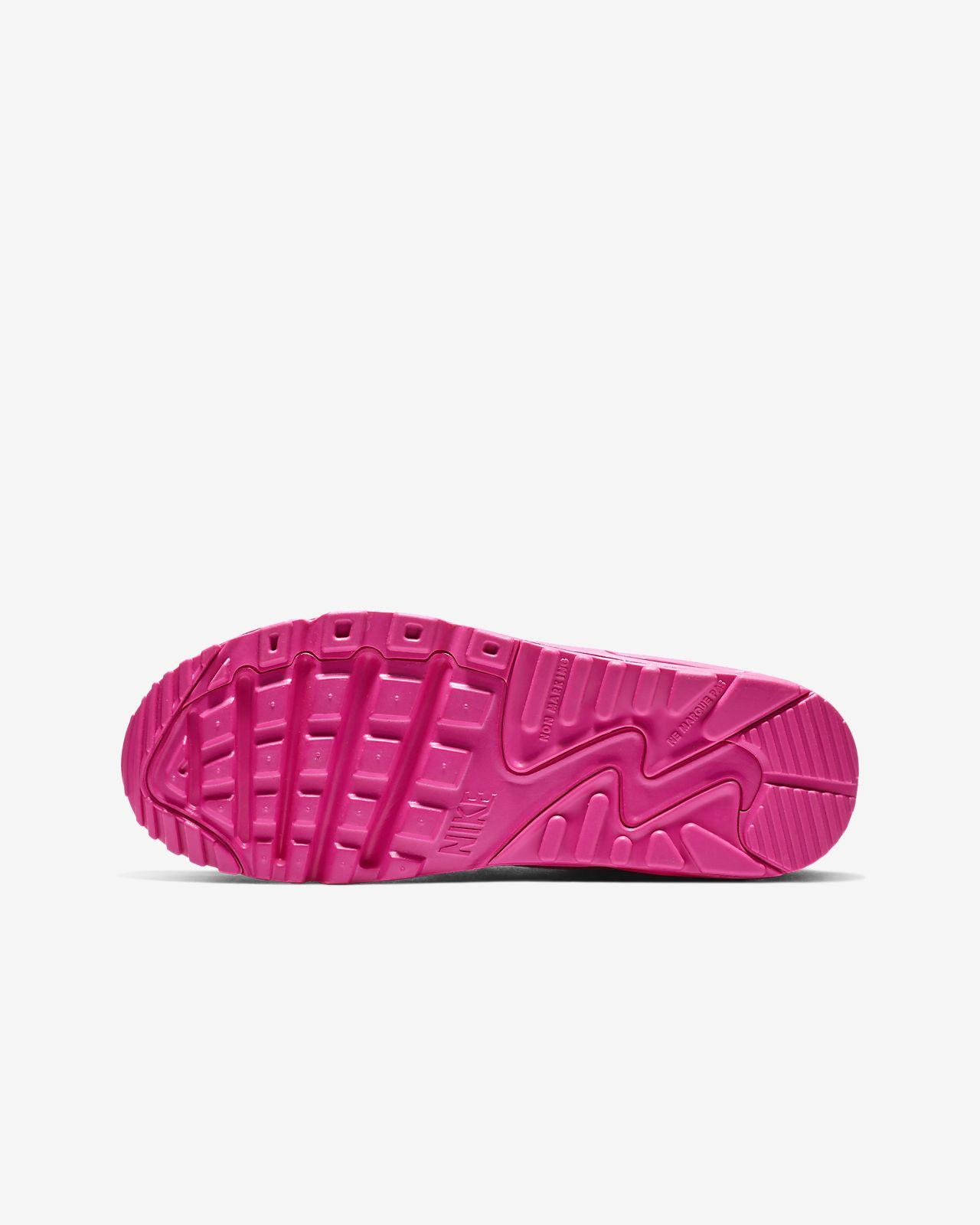 finest selection 3696e 5e69c ... Nike Air Max 90 Leather Big Kids  Shoe