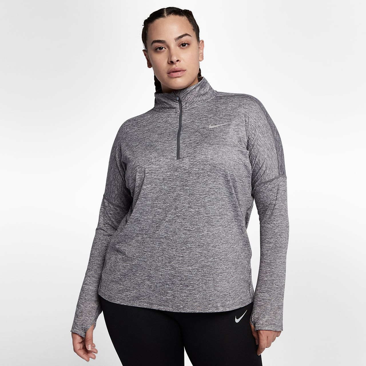 Nike Element (Plus Size) Women Running Top