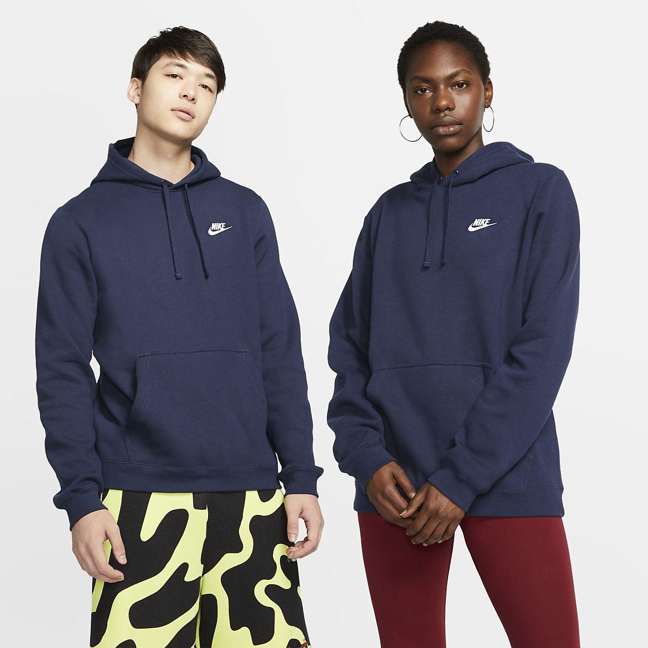 Nike Sportswear CLUB HOODIE - Jersey con capucha - black EcdT9I