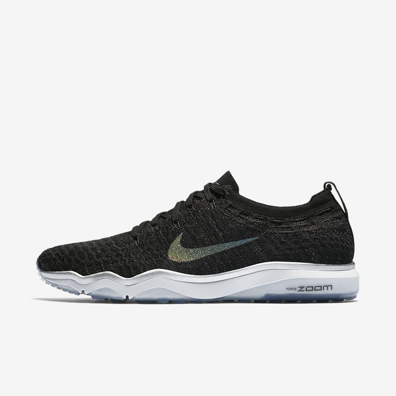 ... Nike Air Zoom Fearless Flyknit Metallic Women's Training Shoe
