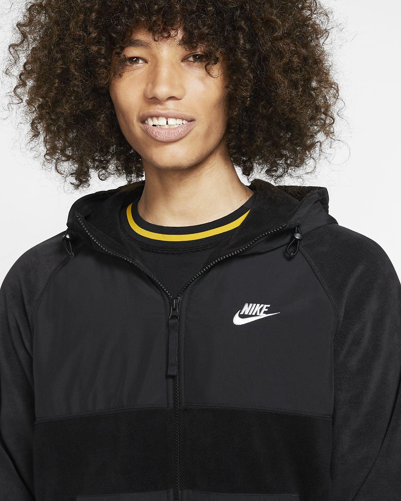 Nike Sportswear Men's Full Zip Fleece Hoodie
