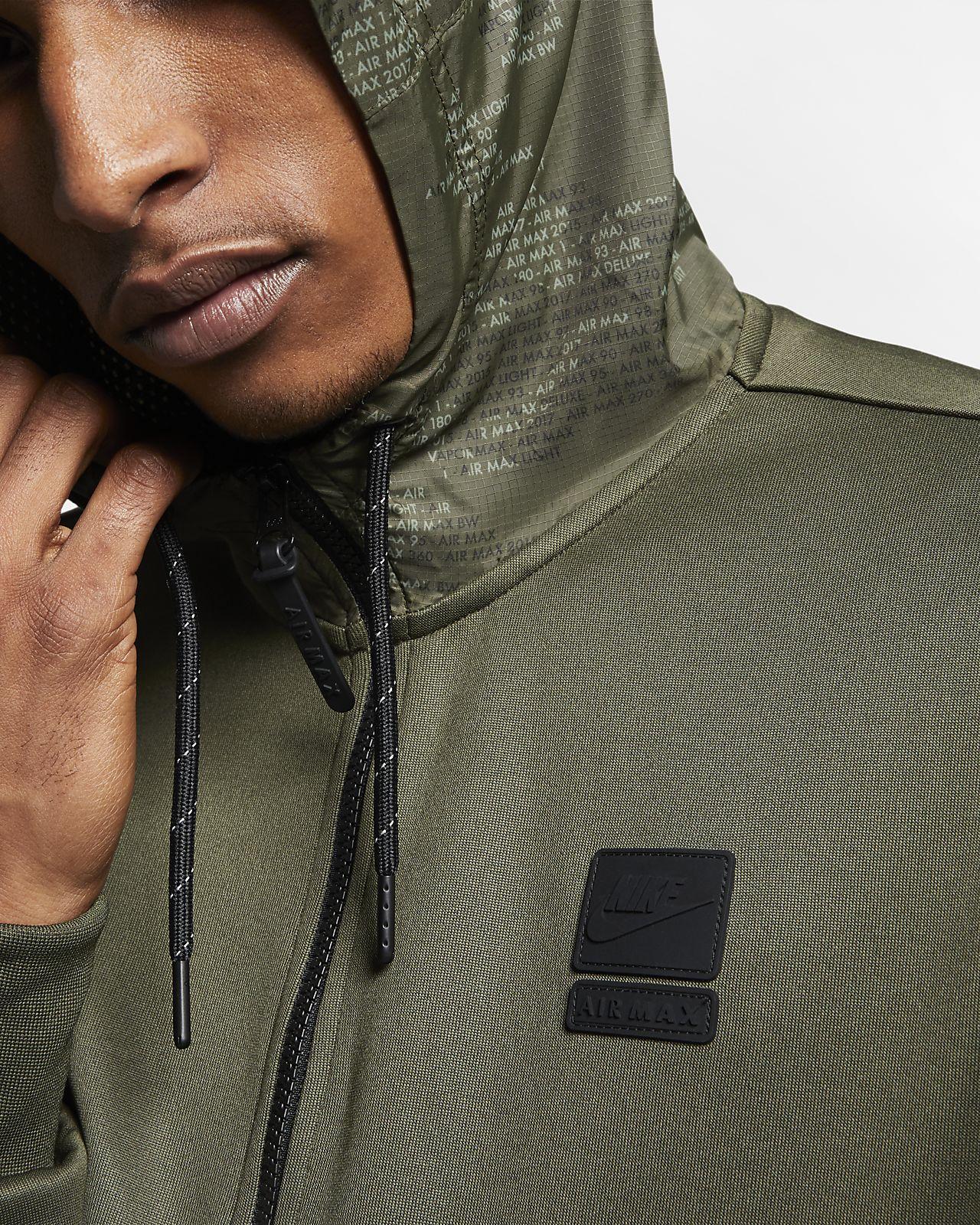 Sweat à capuche demi zippé Nike Air Max pour Homme