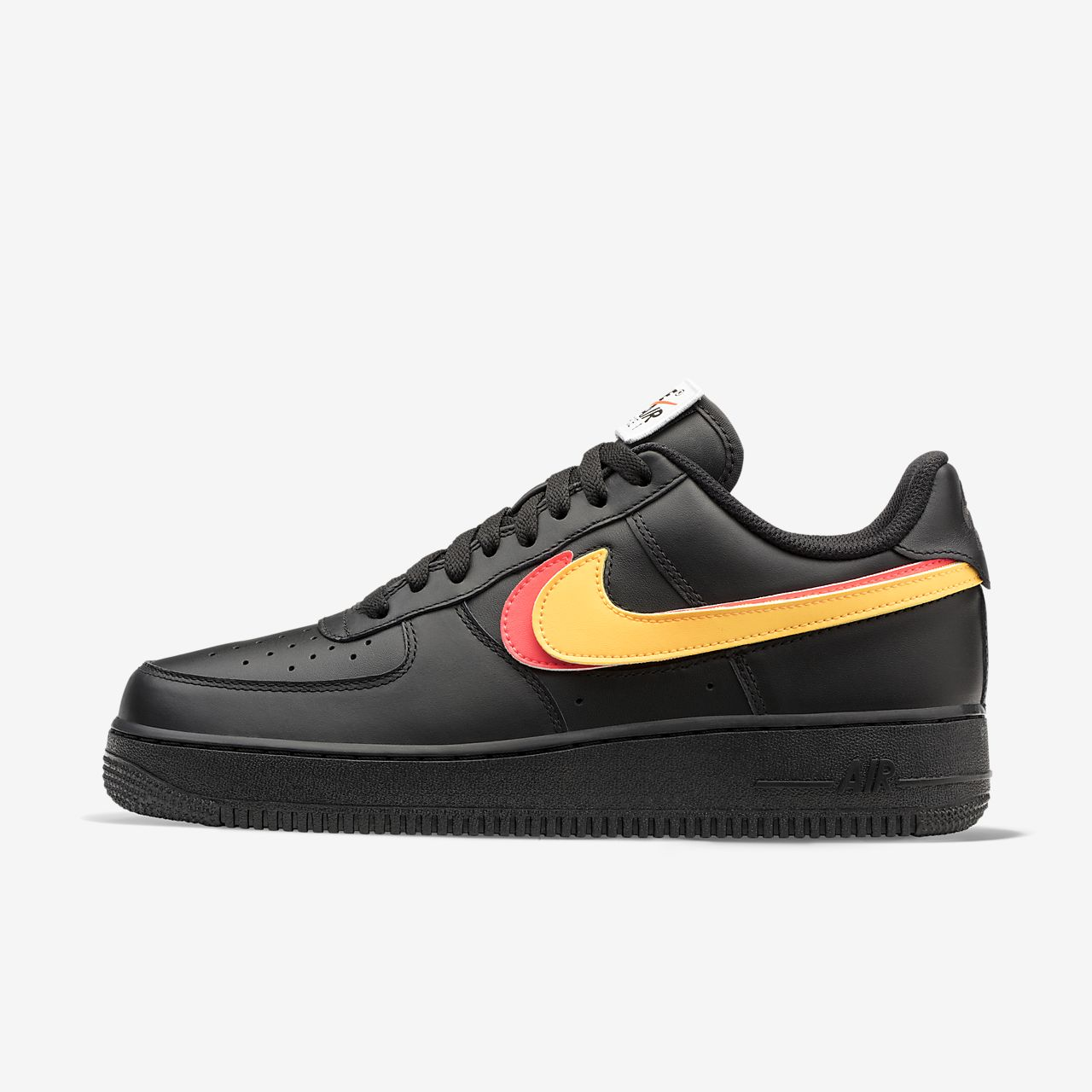 Nike Air Force 1 Swoosh Paquete Negro