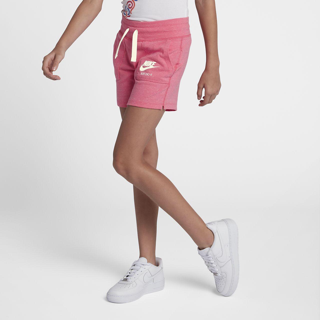 Shorts para niña talla grande Nike Sportswear Vintage