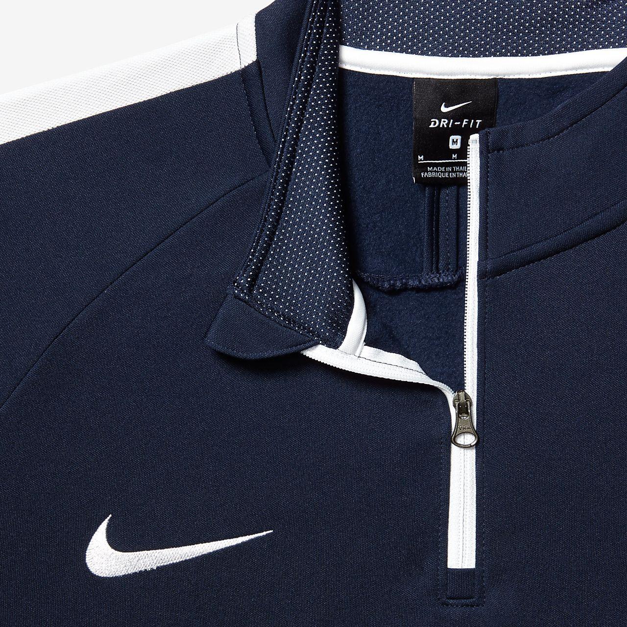 70947d9942a Nike Dri-FIT Academy Voetbaltop met korte rits voor heren. Nike.com BE