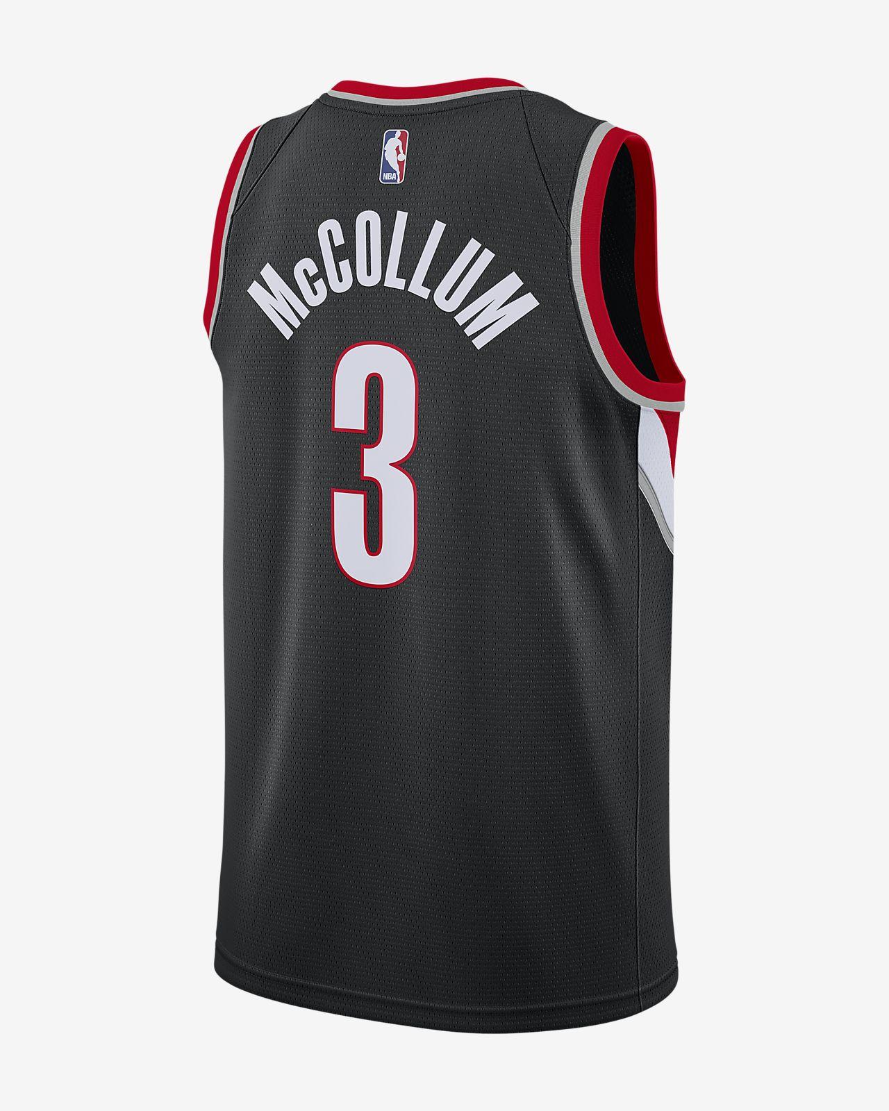 f18774b27 ... C.J. McCollum Icon Edition Swingman (Portland Trail Blazers) Men s Nike  NBA Connected Jersey