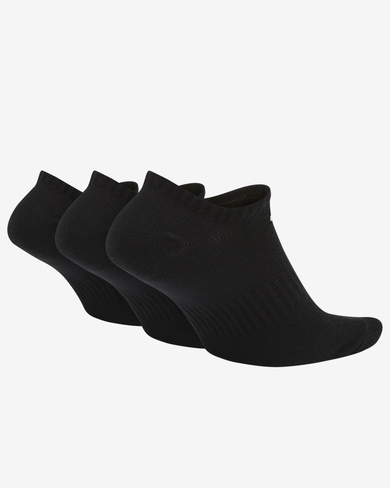 Nike Everyday Lightweight No Show Training calze (3 Pack