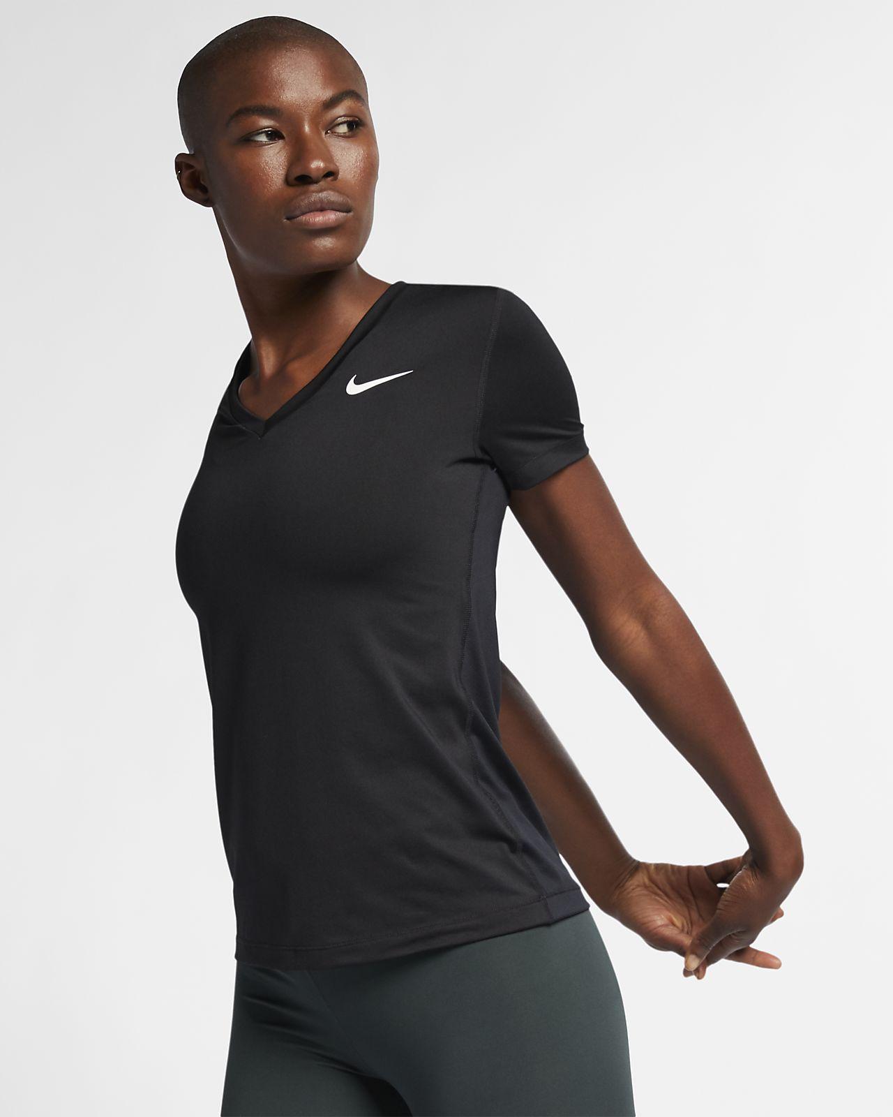 Prenda para la parte superior de entrenamiento de manga corta para mujer Nike Dri-FIT