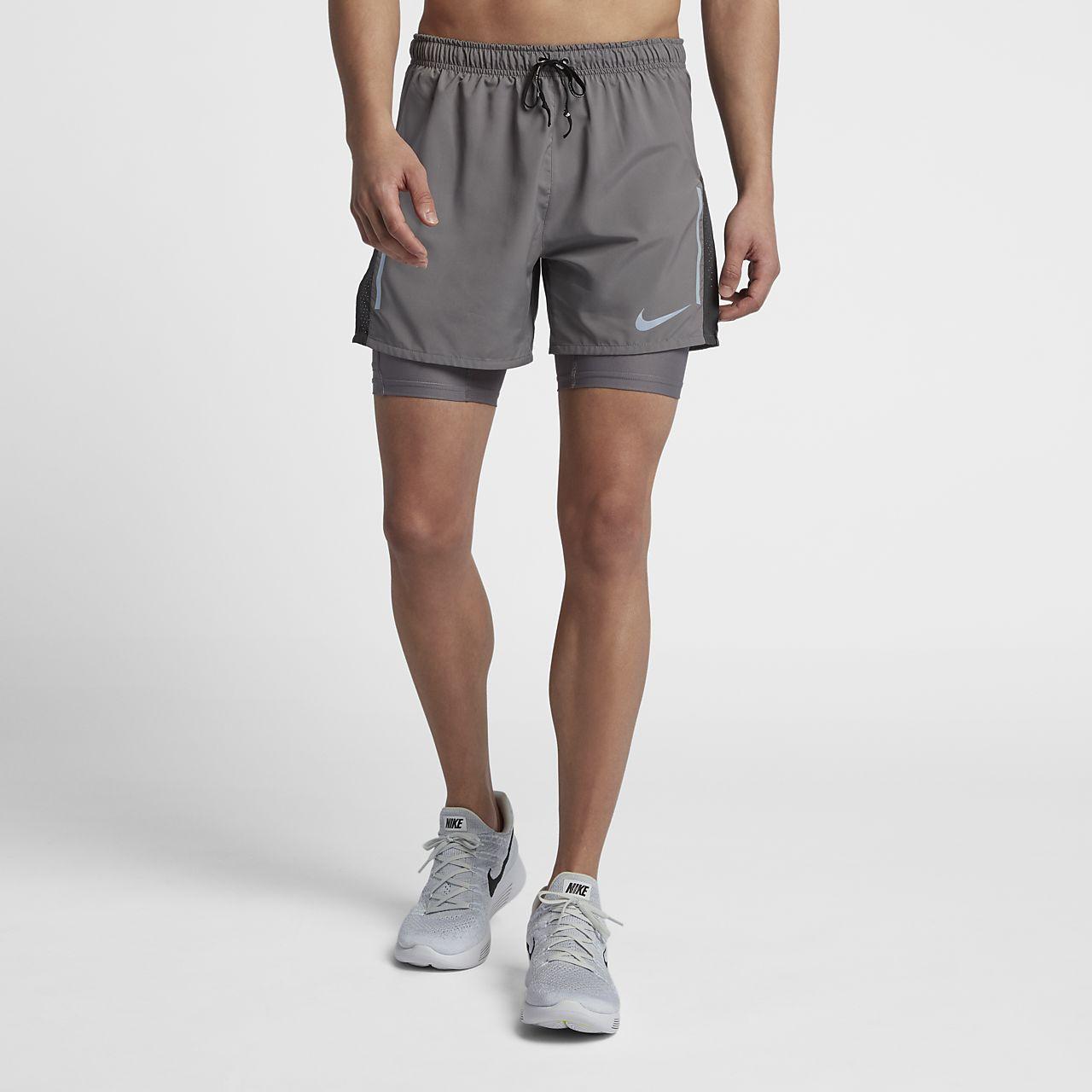 ... Nike Distance Men's 2-in-1 Running Shorts