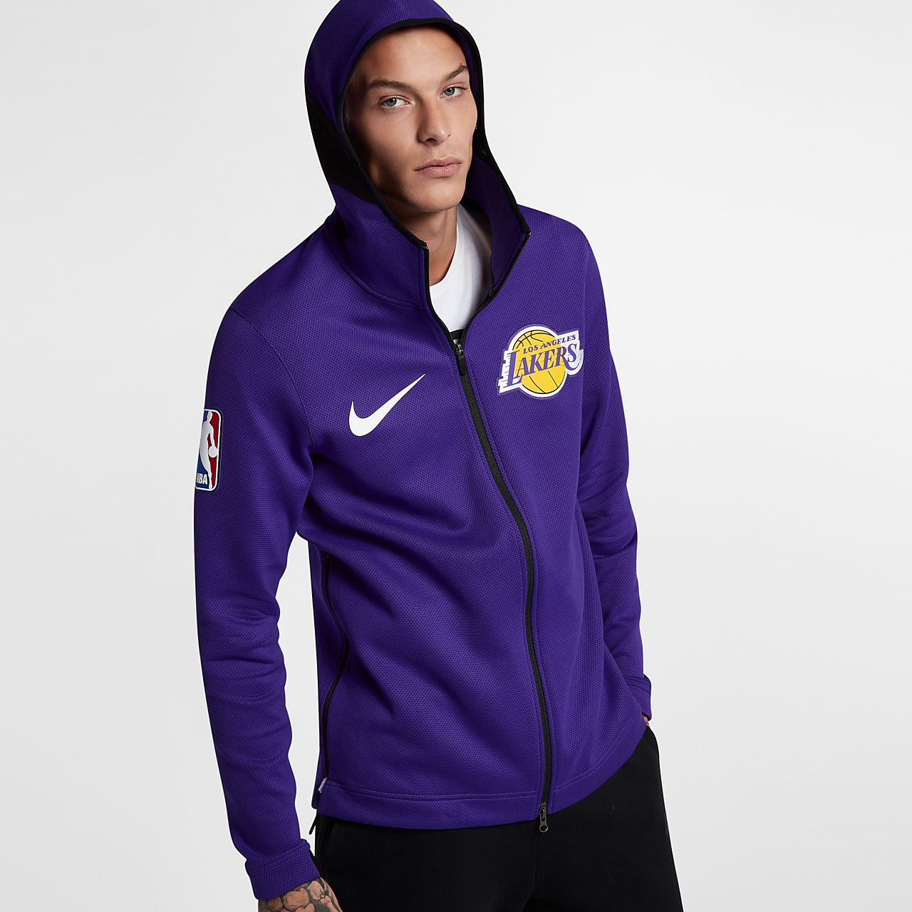 felpa lakers nike