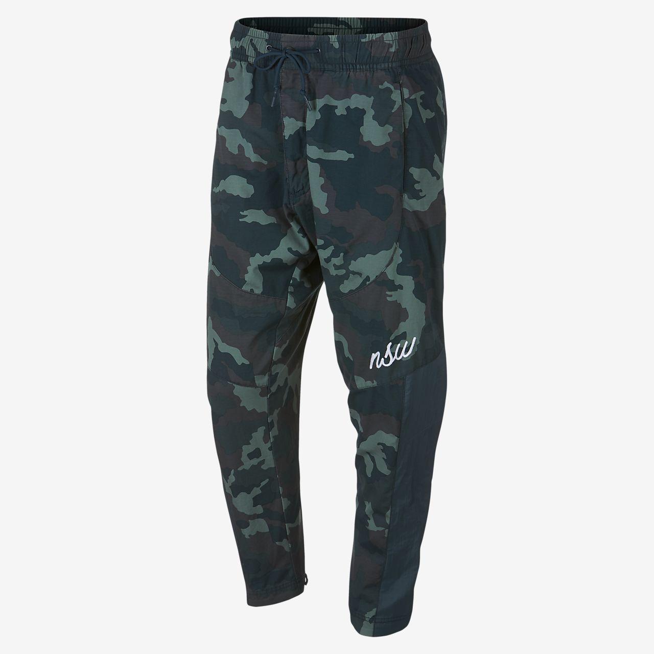 Tejidos De Estampado Con Para Camuflaje Entrenamiento Pantalones wv7ESw