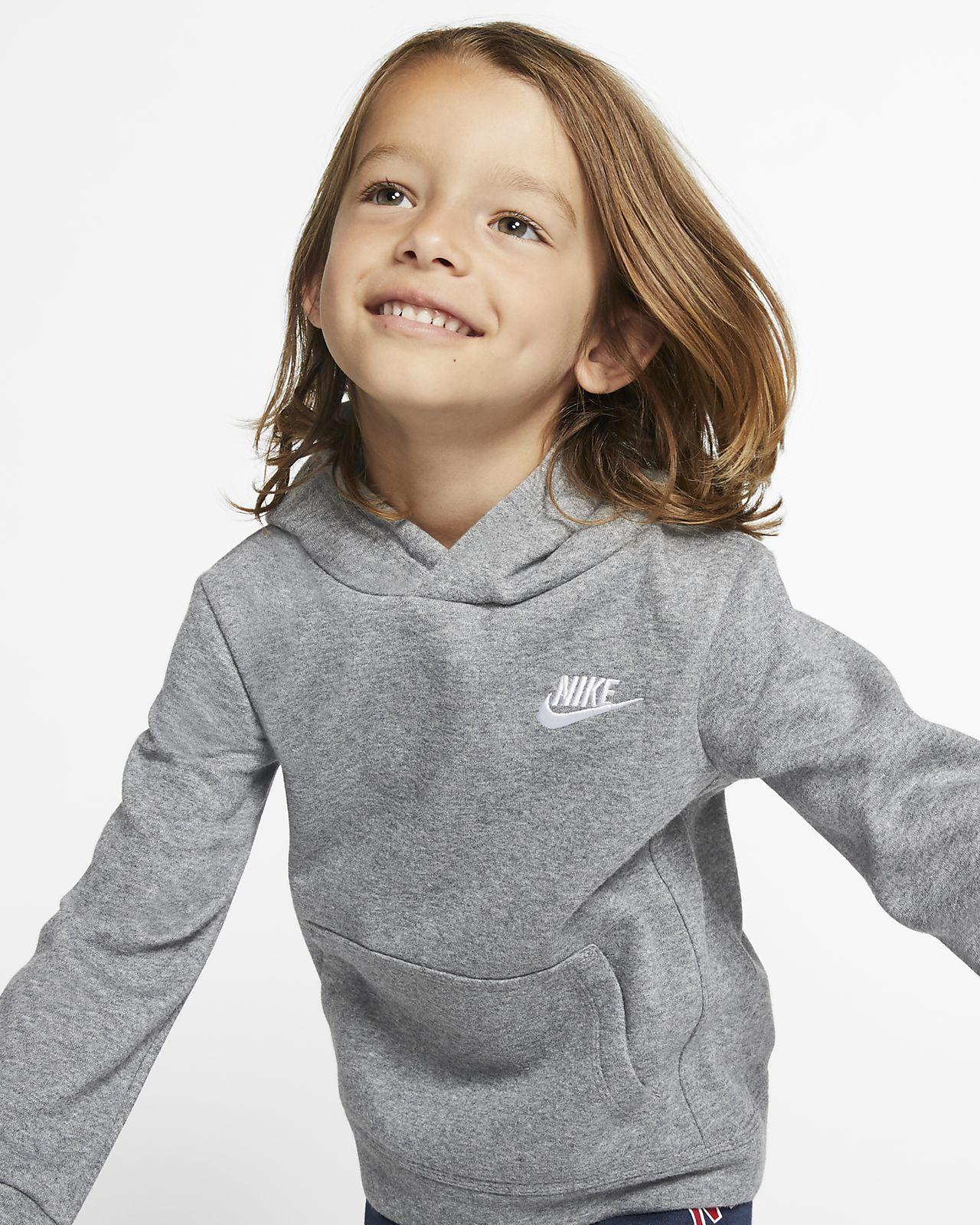 Nike Sportswear Club Fleece-pullover-hættetrøje til småbørn
