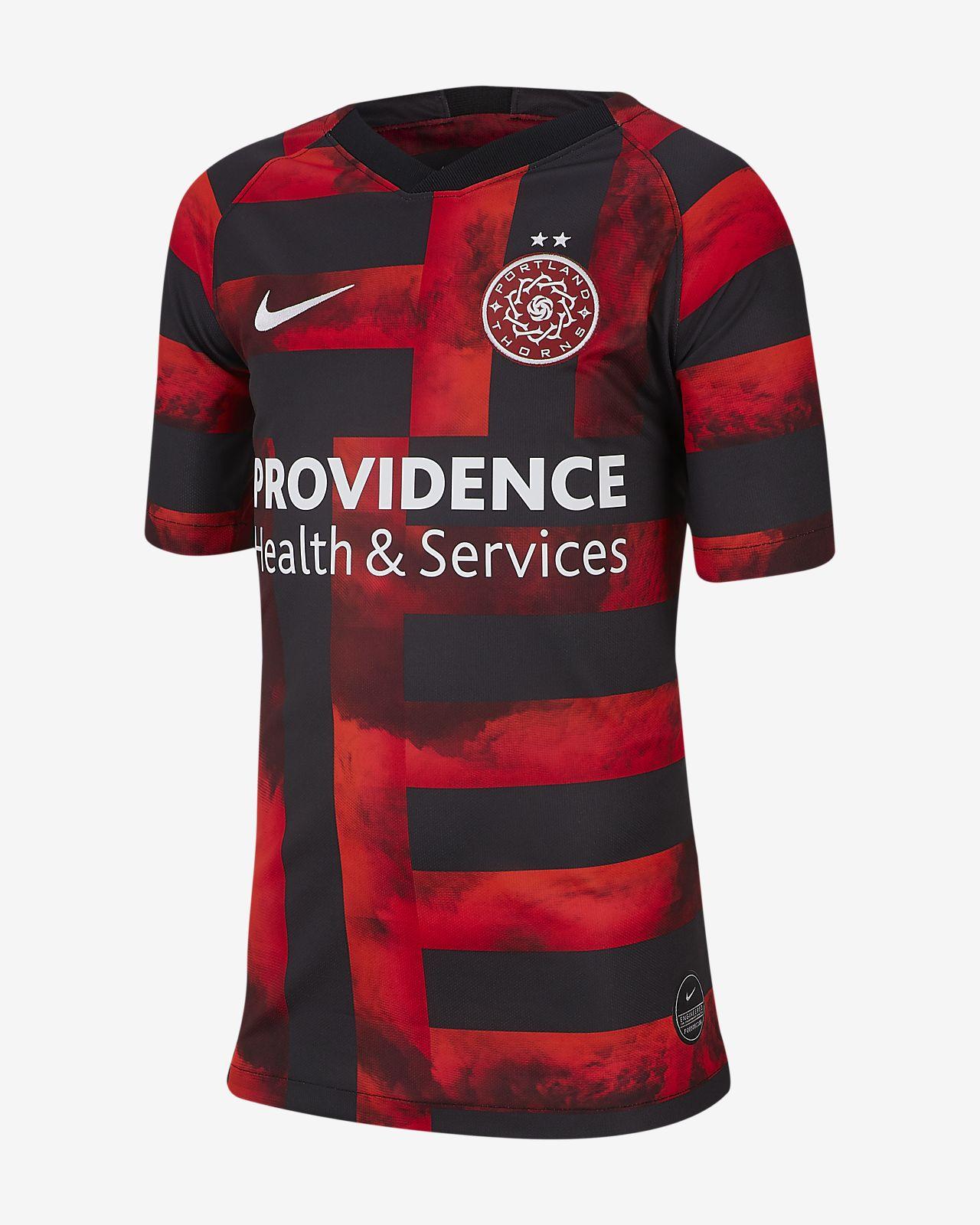 Portland Thorns FC Stadium 2019 Big Kids  Home Jersey. Nike.com 6de5fc3abe1e