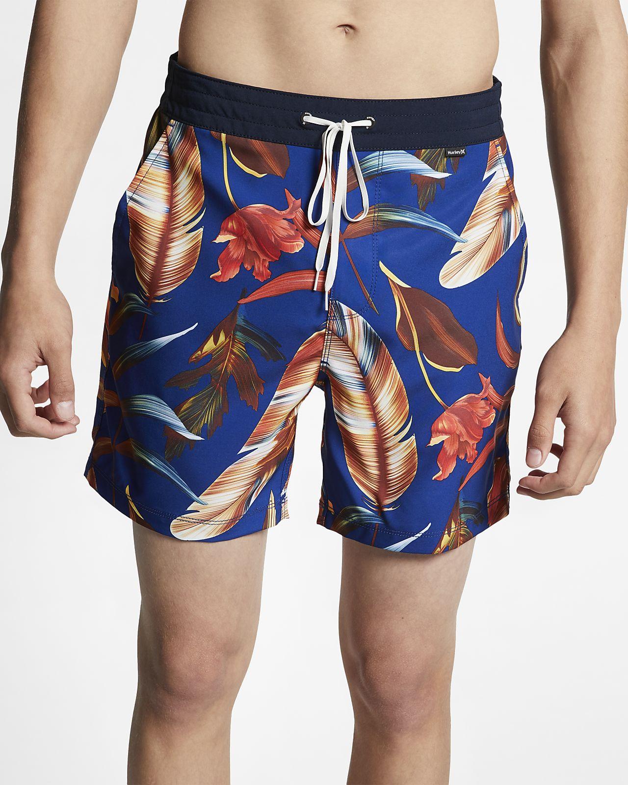 Shorts de playa de 43 cm para hombre Hurley Fat Cap Volle