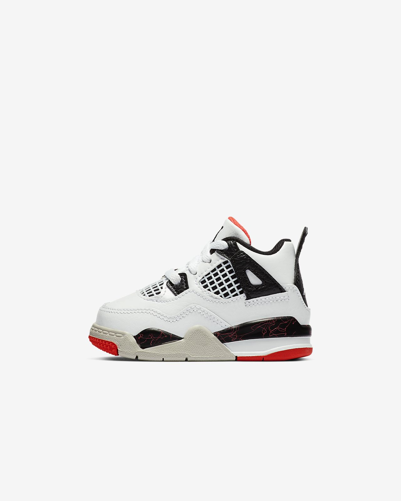 83e0aea6bb69 Air Jordan 4 Retro Baby Toddler Shoe. Nike.com