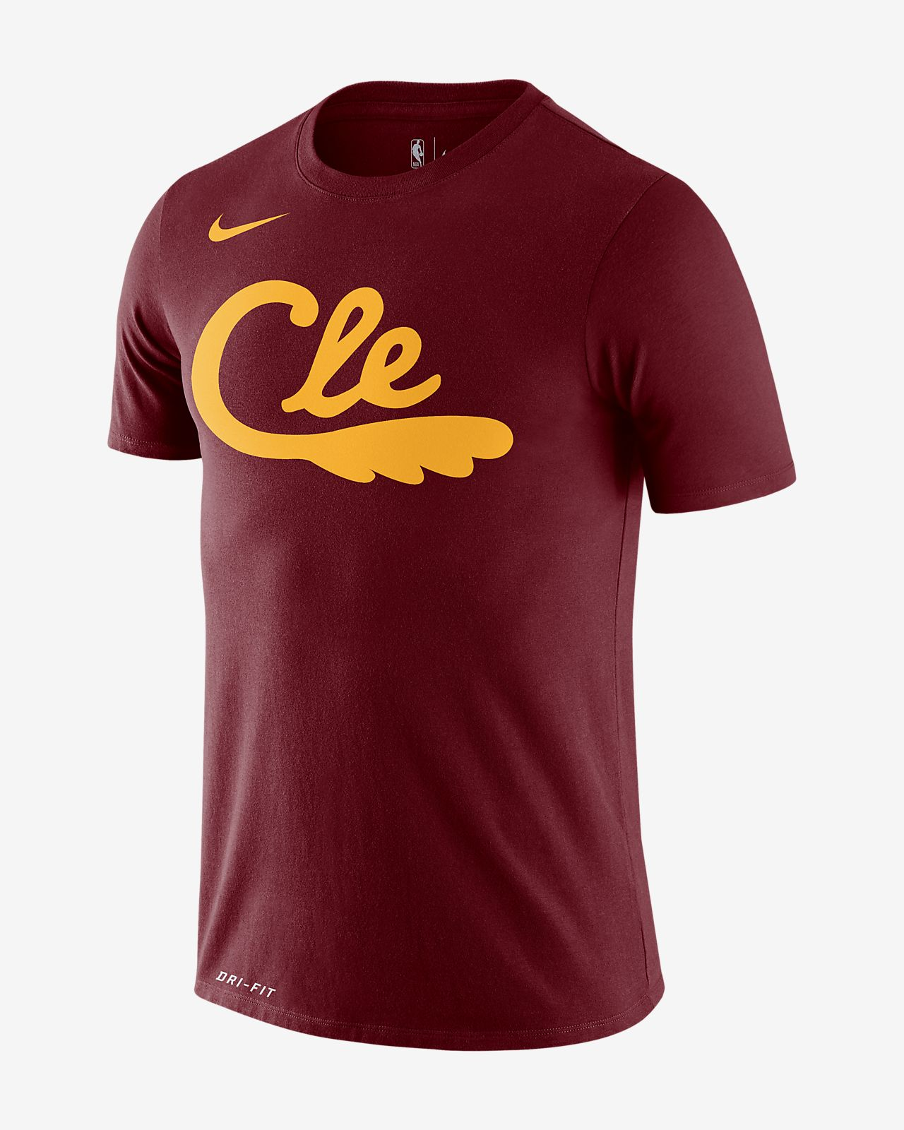 Cavaliers City Edition Logo Men's Nike Dri-FIT NBA T-Shirt