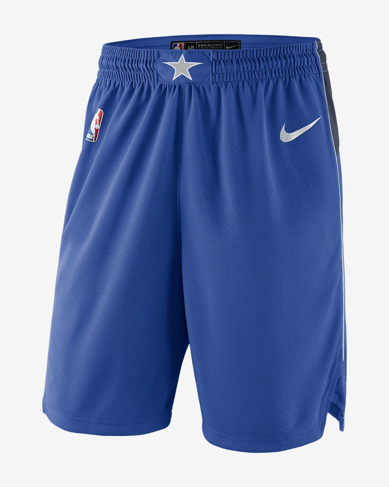Мужские шорты Nike НБА Dallas Mavericks Icon Edition Swingman