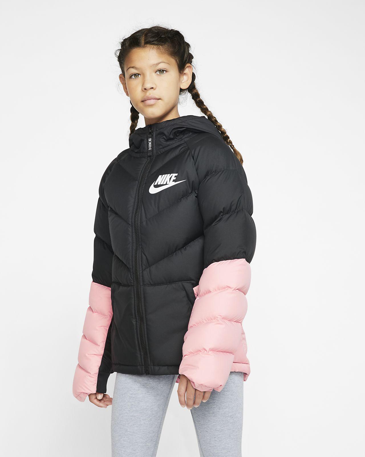Nike Sportswear-parka til store børn
