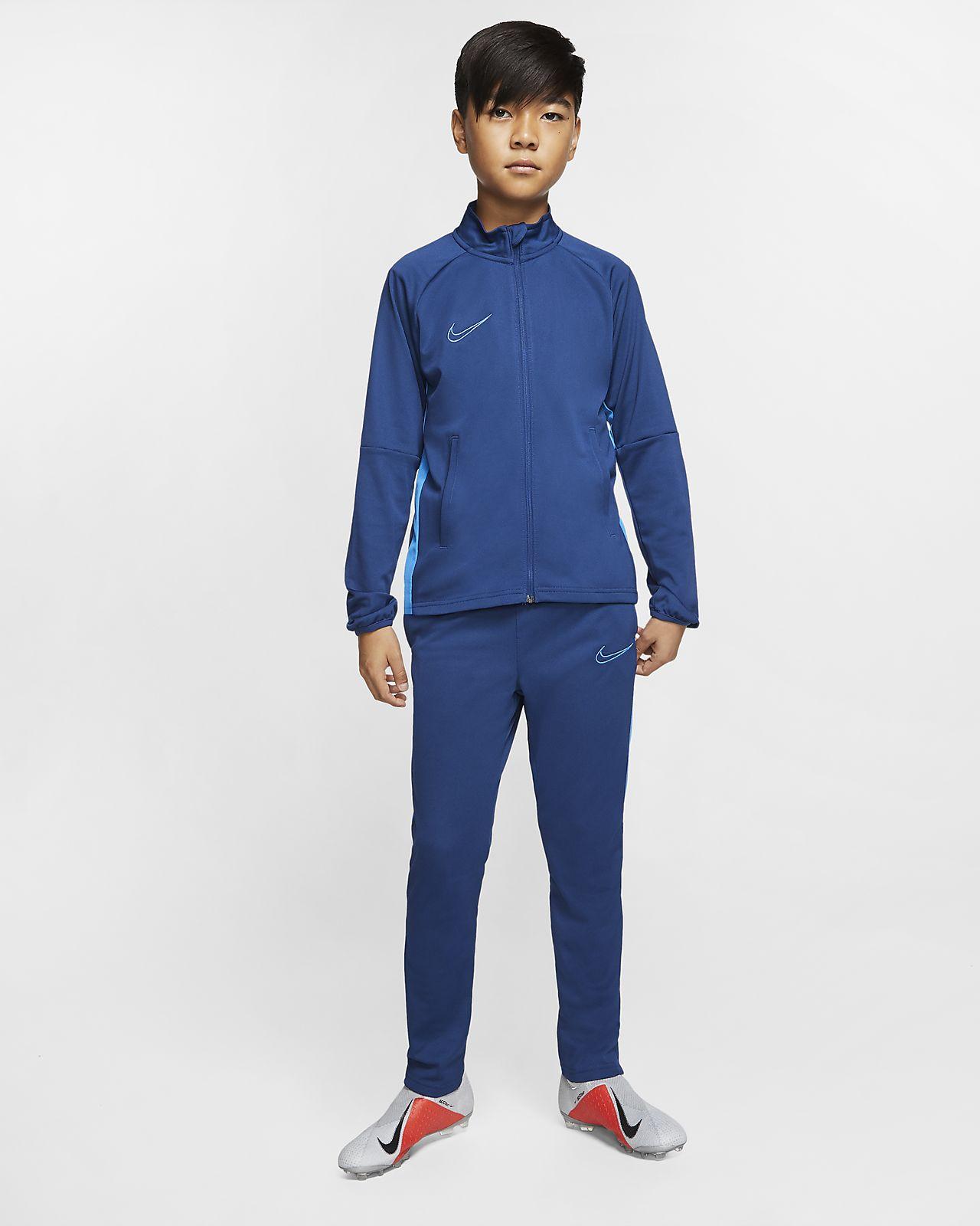Nike Dri-FIT Academy-fodboldtracksuit til store børn