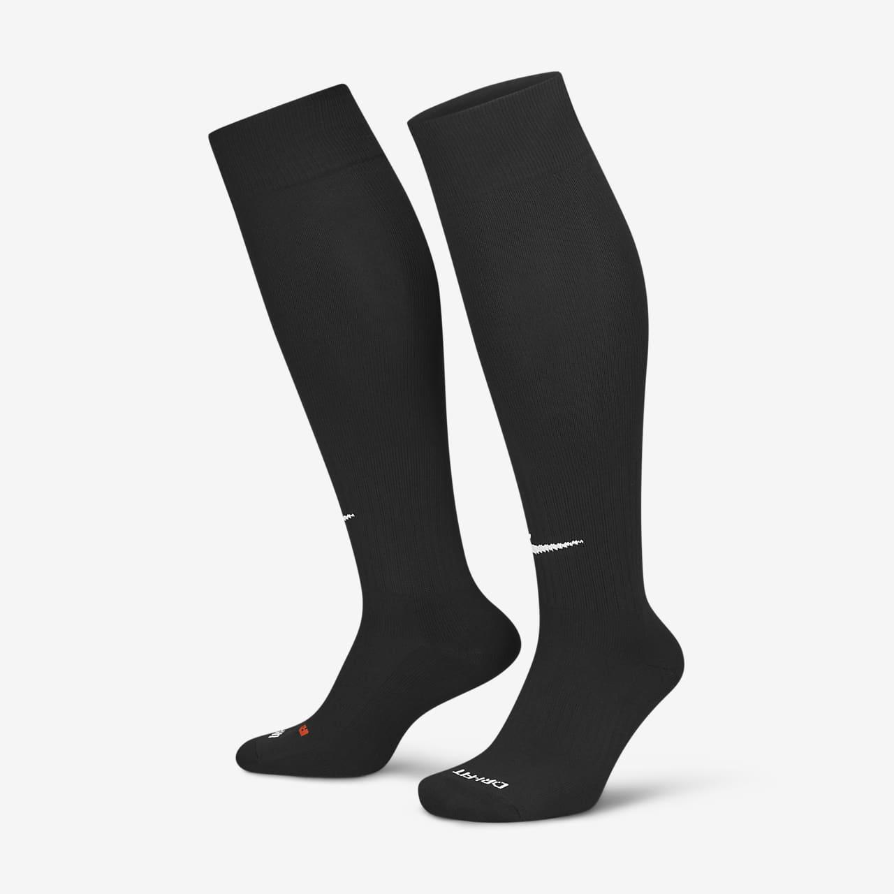 Ποδοσφαιρικές κάλτσες με αντικραδασμική προστασία που φτάνουν επάνω από τη γάμπα Nike Classic 2