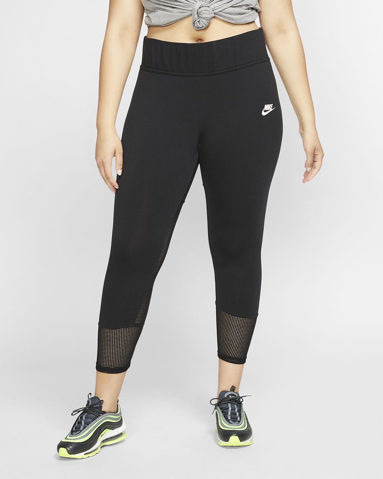 Nike Sportswear Women's Mesh Leggings (Plus Size)