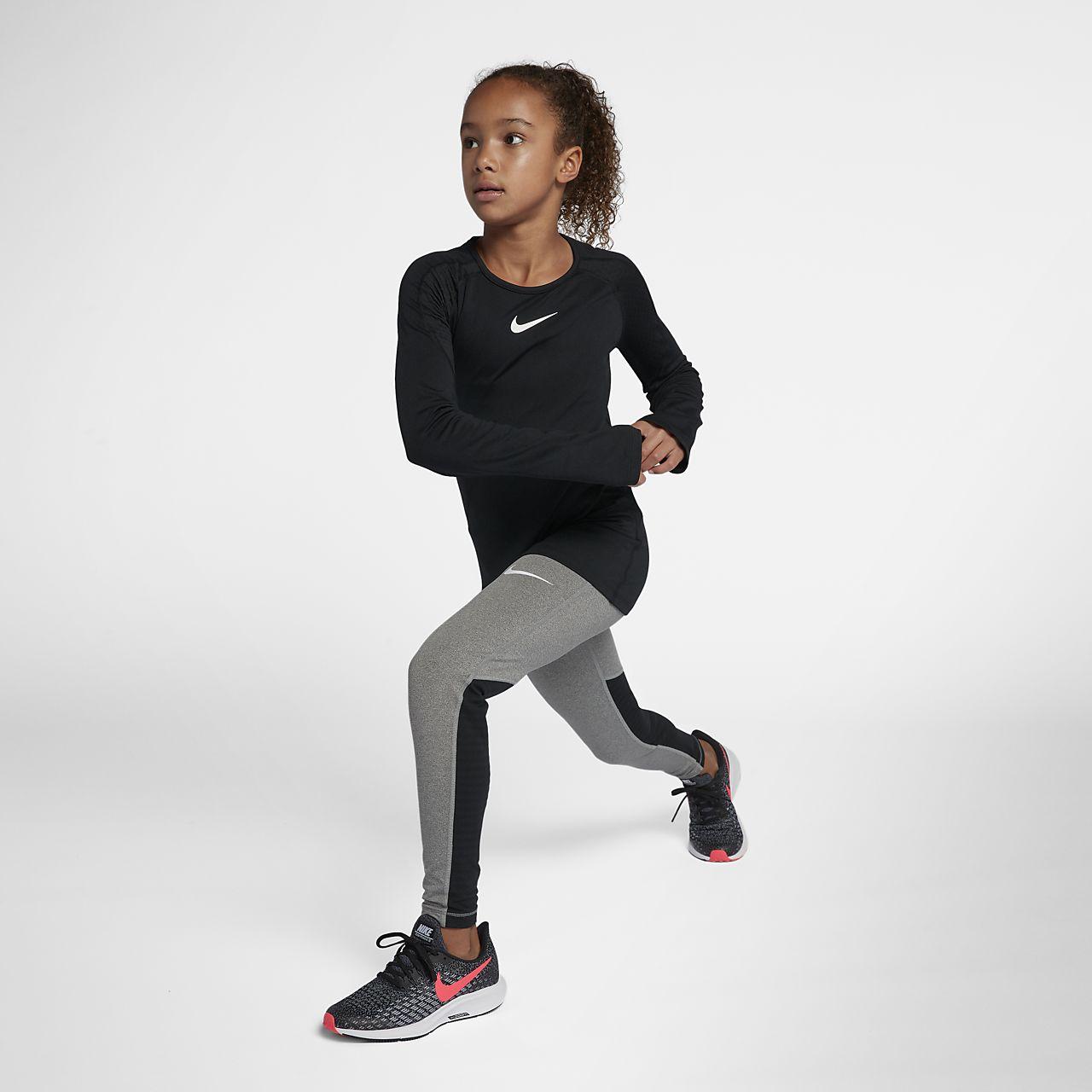 ab37c88c6 Nike Pro Warm Older Kids' (Girls') Long-Sleeve Training Top. Nike.com AU