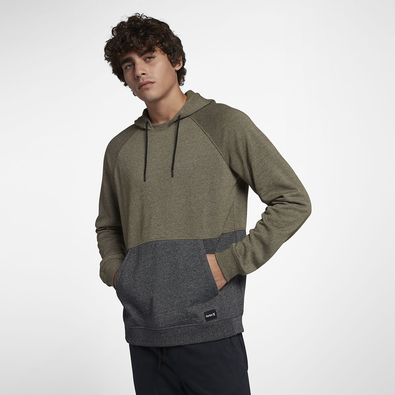 Pour Pullover Blocked Homme Capuche Ch Crone Sweat Hurley À xZqnYXwWaz
