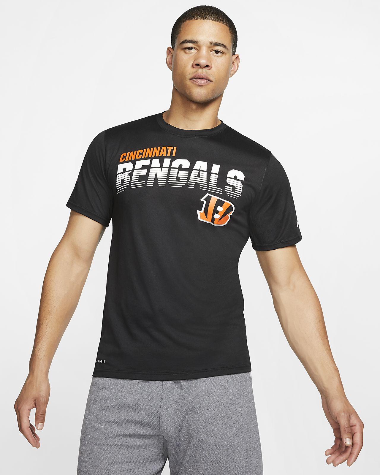 Nike Legend (NFL Bengals) hosszú ujjú férfipóló