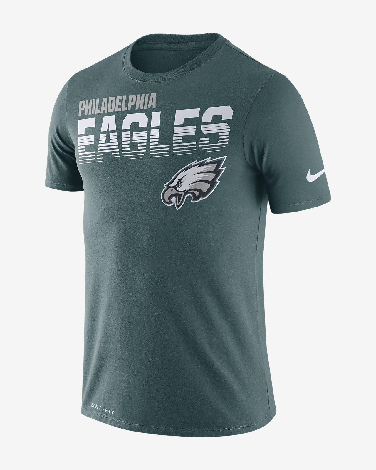 Nike Legend (NFL Eagles) Men's Long-Sleeve T-Shirt