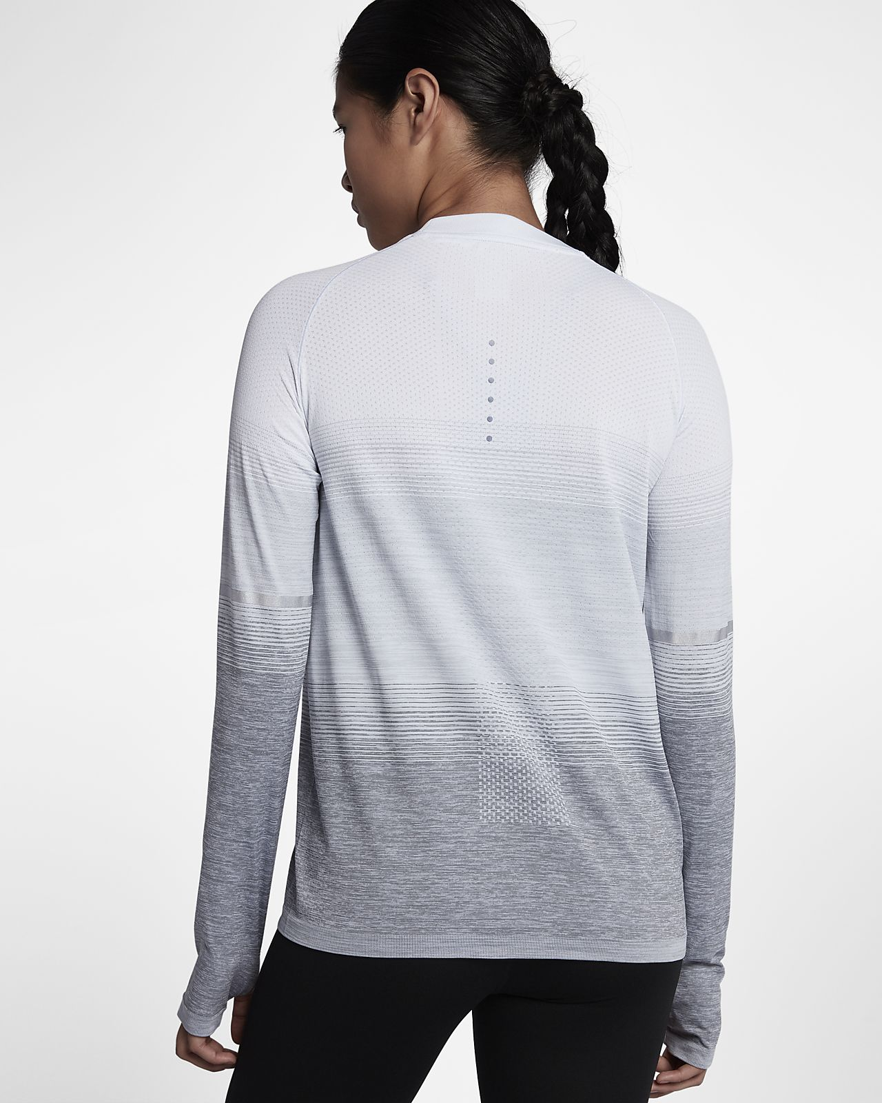 ... Nike Dri-FIT Knit Women's Long-Sleeve Running Top