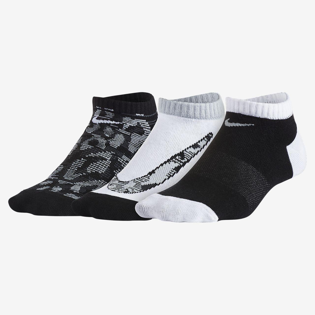 promo code 0ebbd 26ac6 ... Chaussettes Nike Tigress No-Show pour Jeune enfant (3 paires)