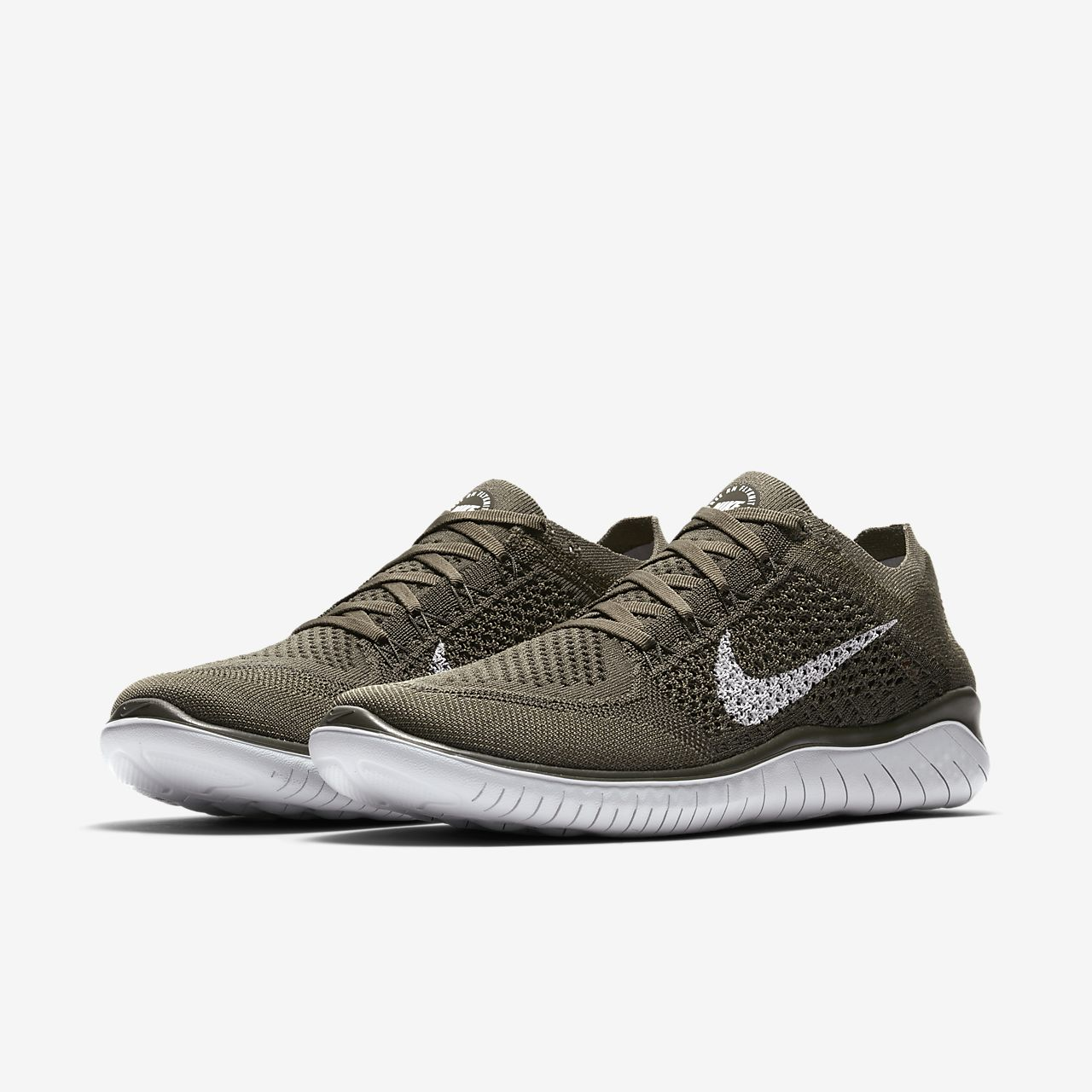 FREE RN FLYKNIT 2018 - Laufschuh Neutral - game royal / white / photo blue PLHPfxiosq