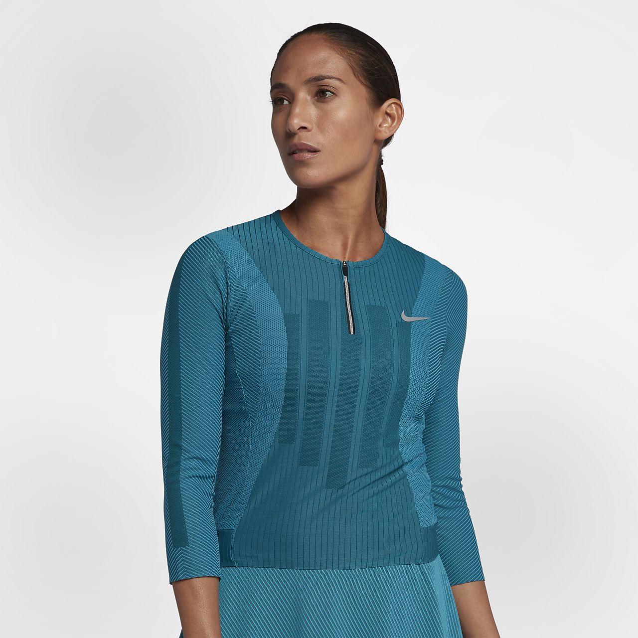 ... NikeCourt Zonal Cooling Slam Women's Tennis Top
