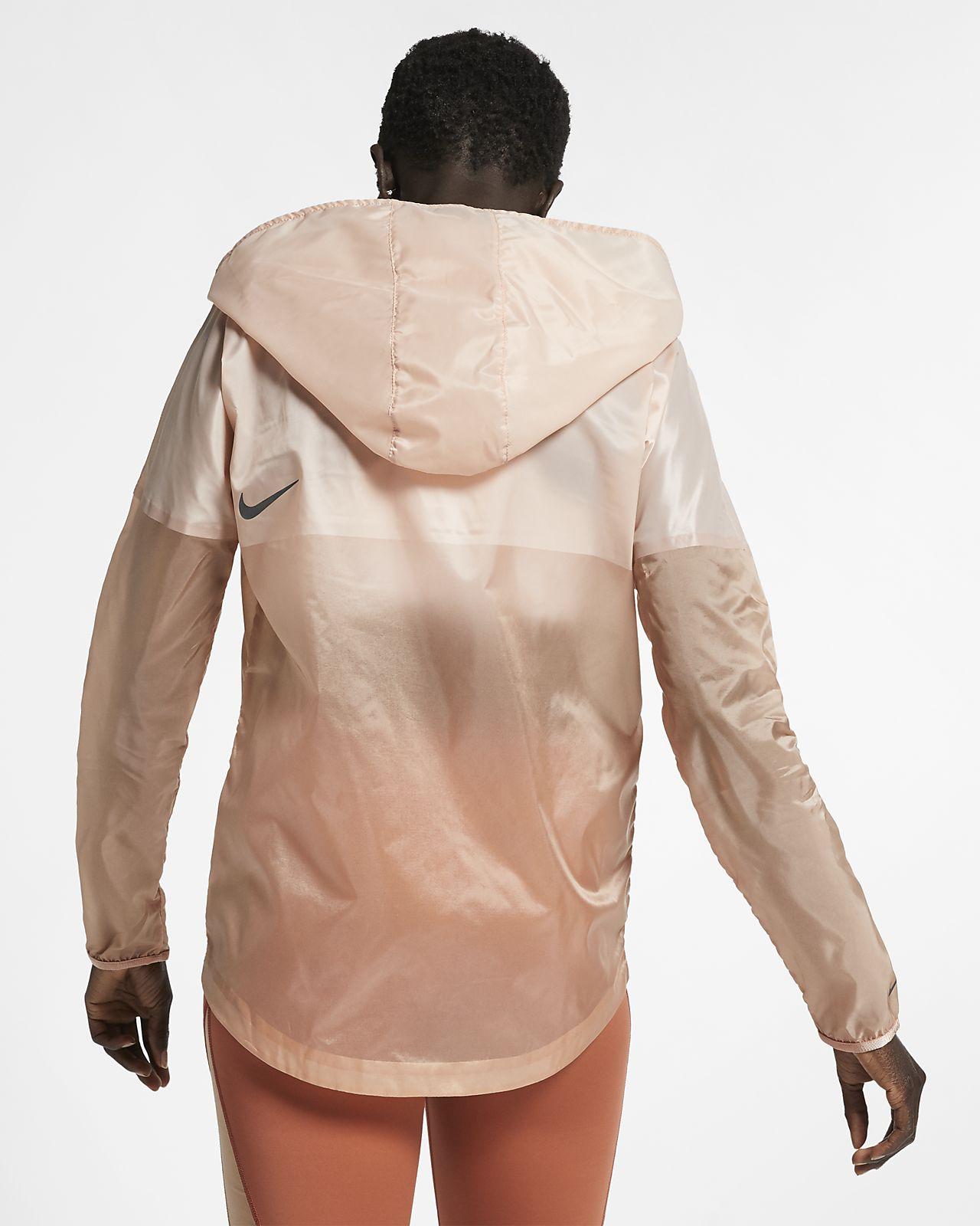nike revolution hooded jacket